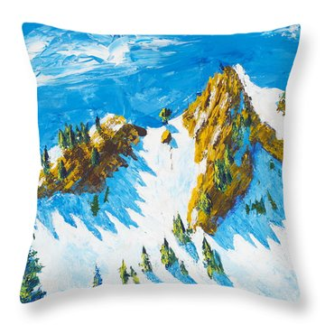 Lone Tree 1 Throw Pillow