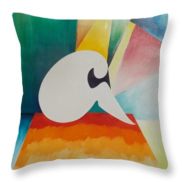 Loneliness Throw Pillow by PainterArtist FIN
