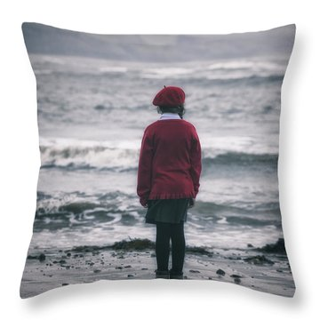 Lonely Throw Pillow by Joana Kruse