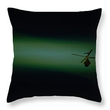 Loner Throw Pillow by Paul Job