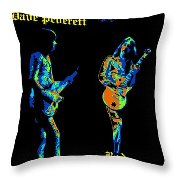 Lonesome Dave And Bottle Rod Throw Pillow
