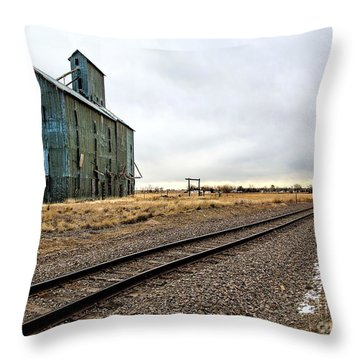 Lonesome Road Throw Pillow by Jon Burch Photography