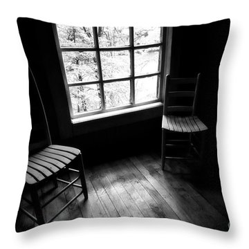 Long Ago Throw Pillow by Cris Hayes
