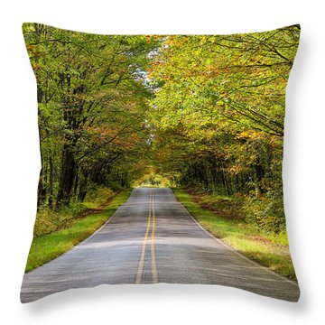 Long And Winding Road   2 Throw Pillow