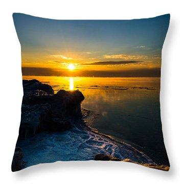 Long Cold Winter II Throw Pillow