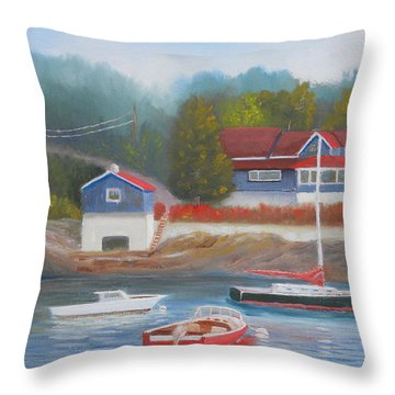 Long Cove Throw Pillow