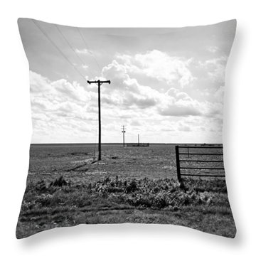 Long Distance Call Throw Pillow