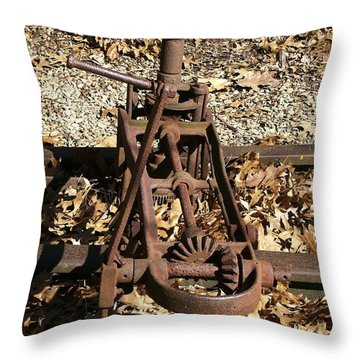 Throw Pillow featuring the photograph Long Forgotten by Sara  Raber