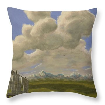 Long Intermission Throw Pillow