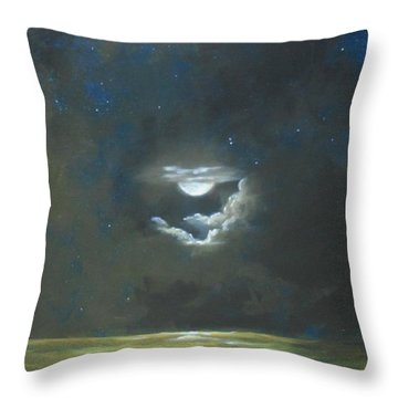 Long Journey Home Throw Pillow
