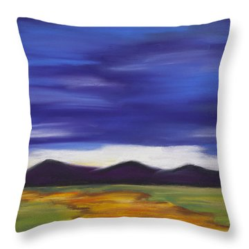 Long Road Home Throw Pillow by Dana Strotheide