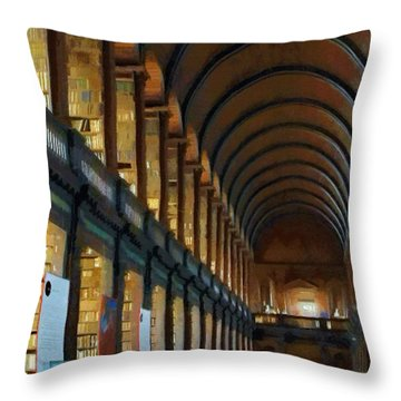 Long Room Throw Pillow