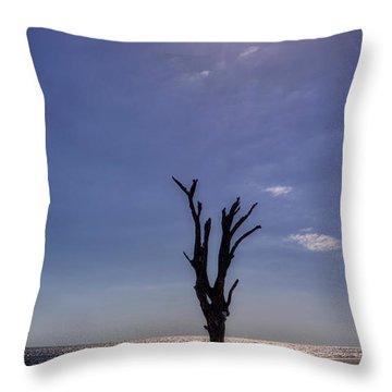Long Shadow On Jekyll Island Throw Pillow