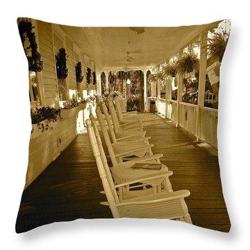 Long Southern Porch Throw Pillow