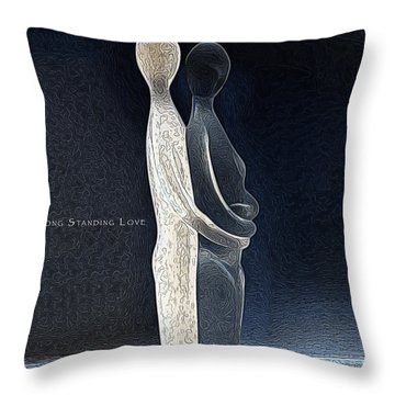 Long Standing Love Throw Pillow