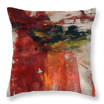 Long Time Coming Throw Pillow by Linda Woods