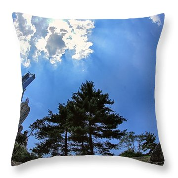 Long Way Up Throw Pillow