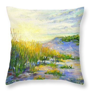Longboat Key  Sunset Throw Pillow