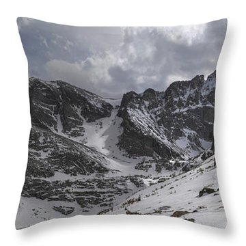 Longs Meeker And Lady Washington Throw Pillow by Aaron Spong