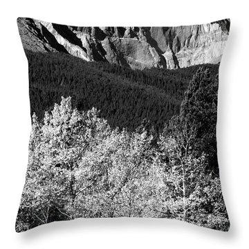 Longs Peak 14256 Ft Throw Pillow