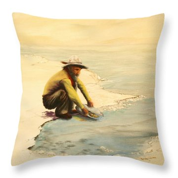 Lonley Existence Throw Pillow