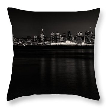 Lonsdale Views In Black And White Throw Pillow