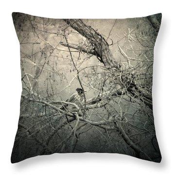 Lontano Throw Pillow by Taylan Apukovska