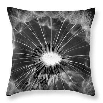 Look Into My Eye Throw Pillow