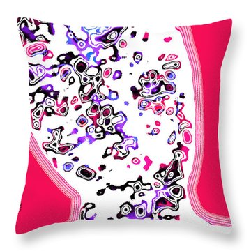 Look Mix Neon Throw Pillow