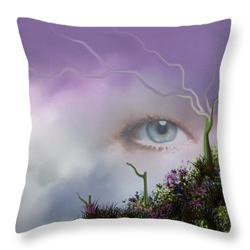 Look Of Love Throw Pillow