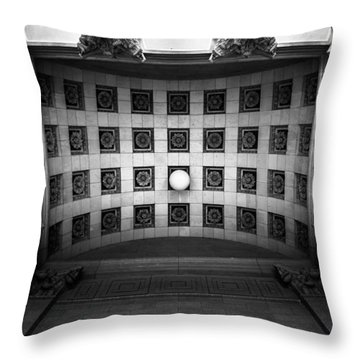 Look Up Throw Pillow by Shane Holsclaw