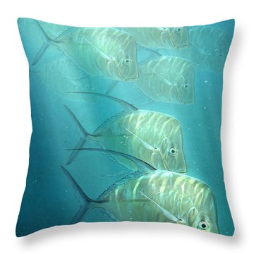 Lookdowns Throw Pillow by Aaron Blaise