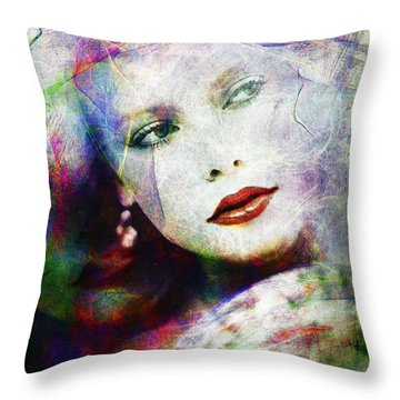 Looking At Tomorrow Throw Pillow