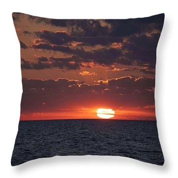 Throw Pillow featuring the photograph Looking Back In Time by Daniel Sheldon