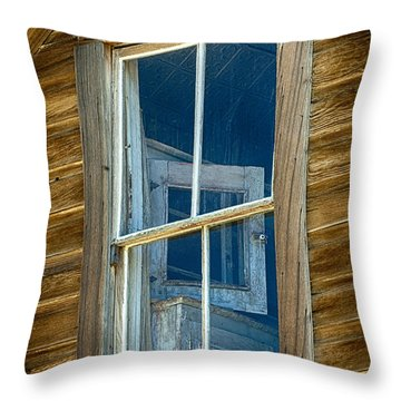Looking Back In Time Throw Pillow by Sandra Bronstein