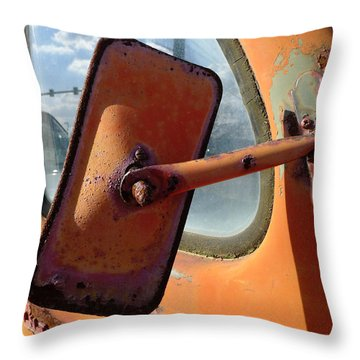 Looking Back Throw Pillow by Richard Reeve