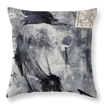 Looking Eastward Throw Pillow
