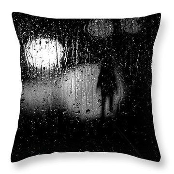 Looking For A Ride Throw Pillow by Bob Orsillo