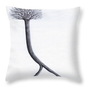 Looking For Fertile Land Throw Pillow
