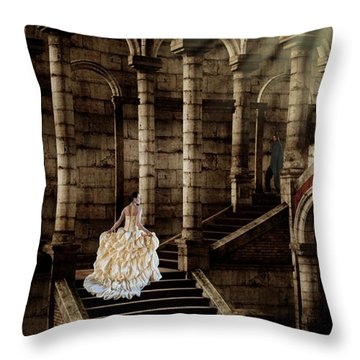 Looking For Love Throw Pillow by Davandra Cribbie