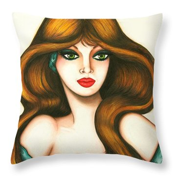 Looking Forward Throw Pillow