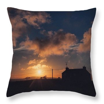 Looking Forward To Being Home... At Throw Pillow