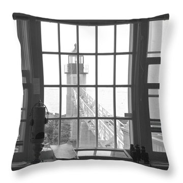 Looking Out Throw Pillow by Mike McGlothlen