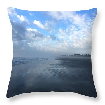 Looking South Throw Pillow