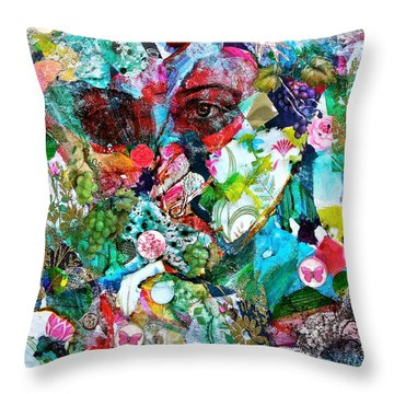 Looking Through Throw Pillow by Bellesouth Studio