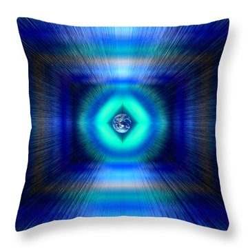Earth Appeal Throw Pillow