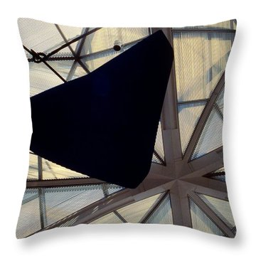 Looking Up At The East Wing Throw Pillow by Stuart Litoff