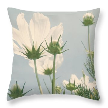 Looking Up Throw Pillow by Kim Hojnacki