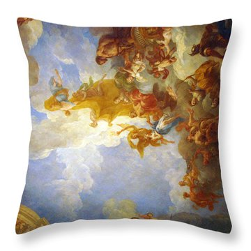 Throw Pillow featuring the photograph Looking Up by Meaghan Troup