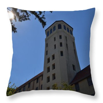 Lookout Sky Tower Throw Pillow